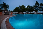 Full moon, native dancers, poolside at Porto Bay, Falesia, the Algarve