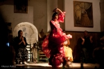 Flamenco dancer at Taberna Flamenco, Jerez, Spain