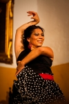 Flamenco dancer in Jerez, Spain