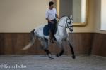 Manuel Borba Veiga with an E horse in the new Picadeiro